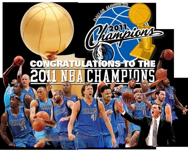 Felicidades a los Campiones 2011 NBA Mave10