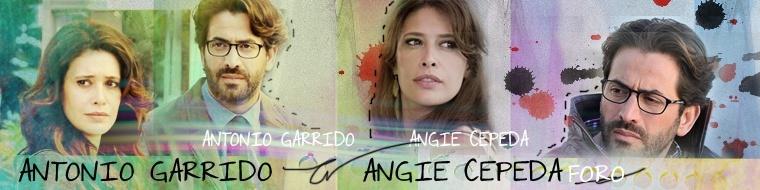 Angie Cepeda y Antonio Garrido