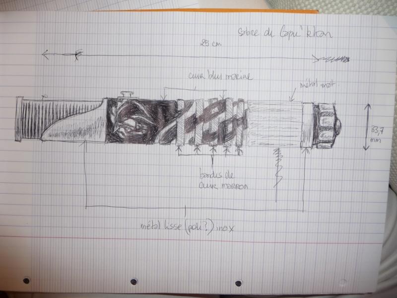 Mon sabre... début des travaux P1030810