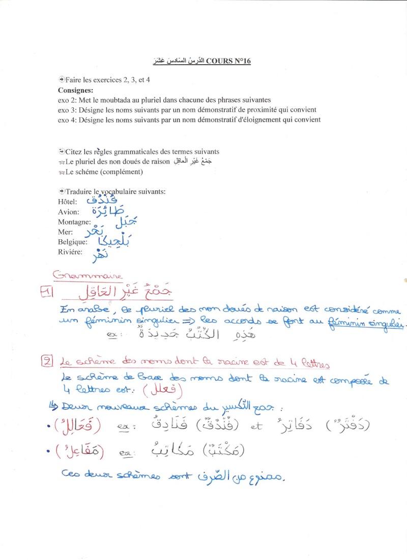 EXERCICES OUM 3ABDULLAH (apprentissage terminé) - Page 2 Ex_ara45