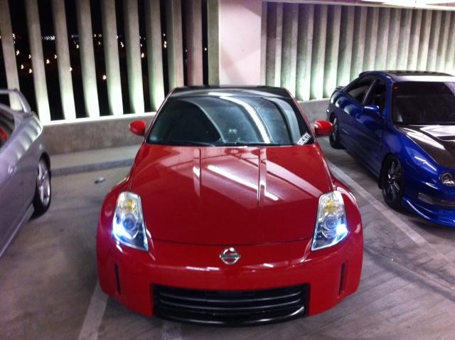 My Red 350z 210