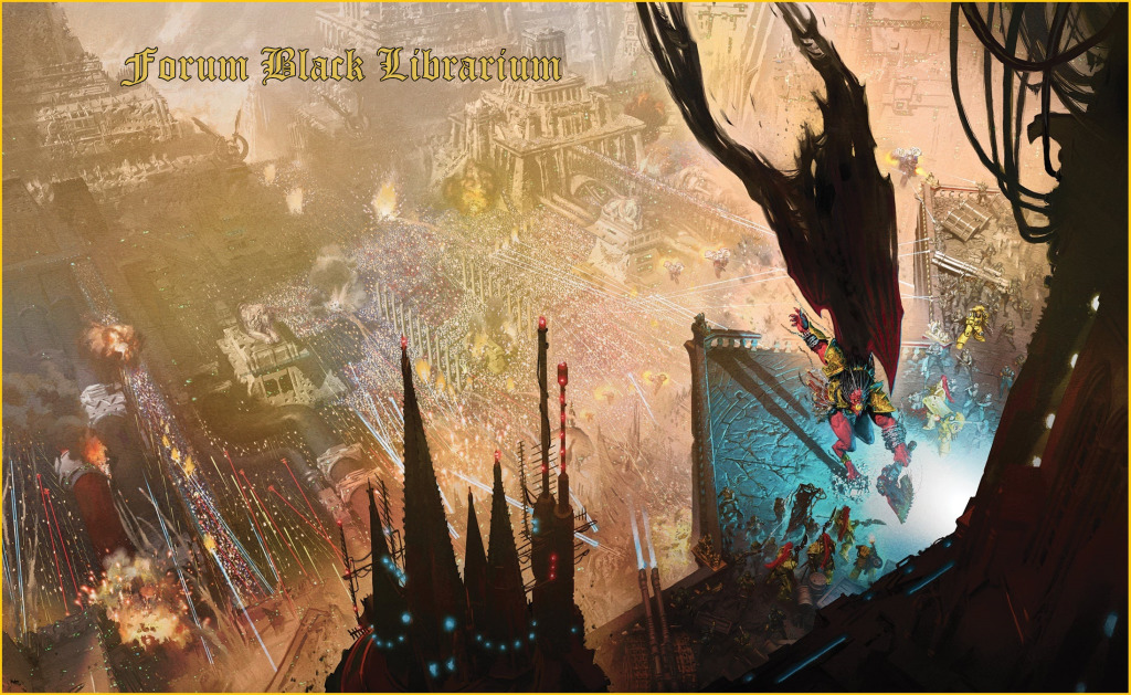 [The Black Library Weekender 2018] - Centralisation des news 5a38c510