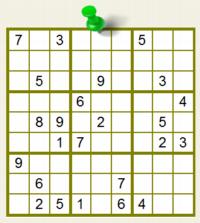 Resolvé los Sudokus y ganá 25 puntos Jugar-10