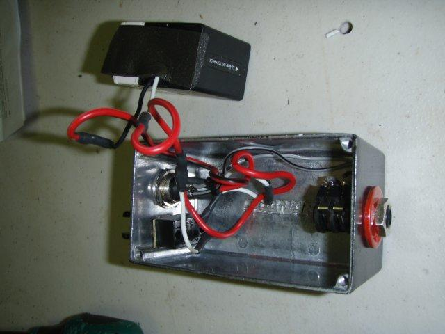 DIY Minelab Battery Pack Inside10