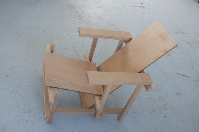 La chaise rouge et bleue de Rietveld 18_jui12