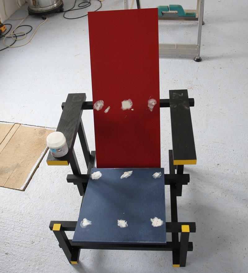 La chaise rouge et bleue de Rietveld 18_jui20