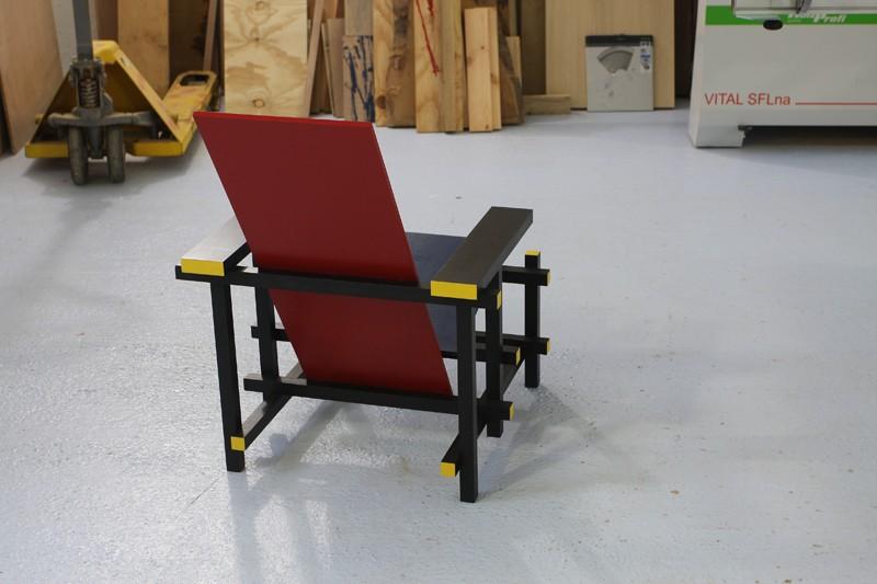 La chaise rouge et bleue de Rietveld 18_jui22