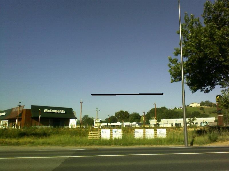 2011: Le 17/05 à 18 h 30 en face de géant castres - (78) Ovni410