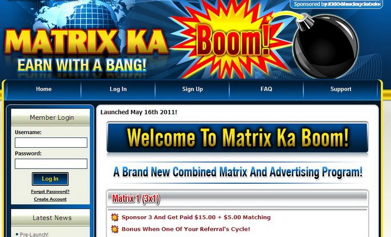 โปรแกรมแนะนำอันดับที่ 1 ของเรา ชื่อ Matrix Ka Boom Mkb-in10