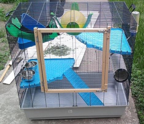 Vends cage rat Freddy - à Rennes ou Brest - 70 € Photo011