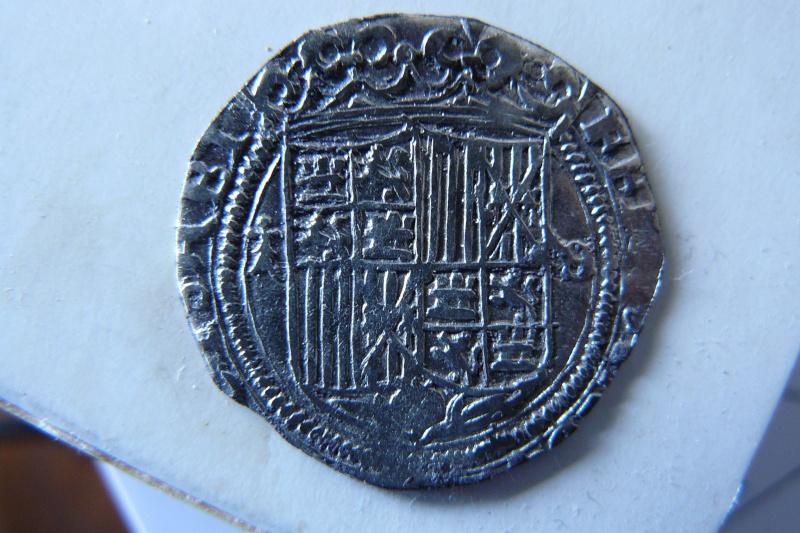 """Real espagnol """"Rois Catholiques"""" Ferdinand et Isabelle (Burgos) P1280812"""