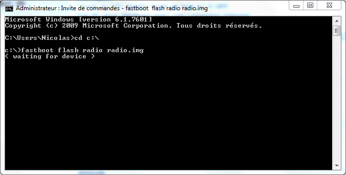 [TUTO - S-OFF]  Changer de Hboot / Splash / Recovery / Radio  Radio110