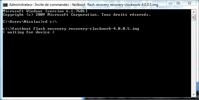 [TUTO - S-OFF]  Changer de Hboot / Splash / Recovery / Radio  Recove10