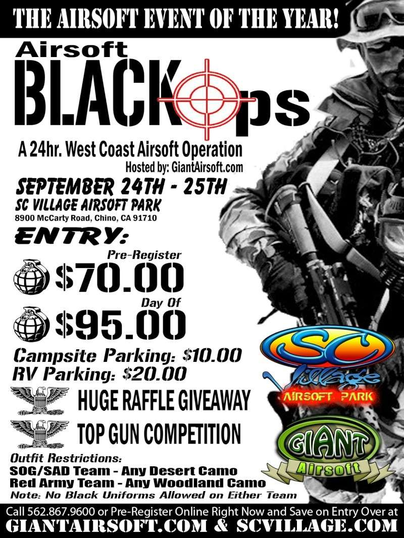 Airsoft BlackOps, South California players Back11