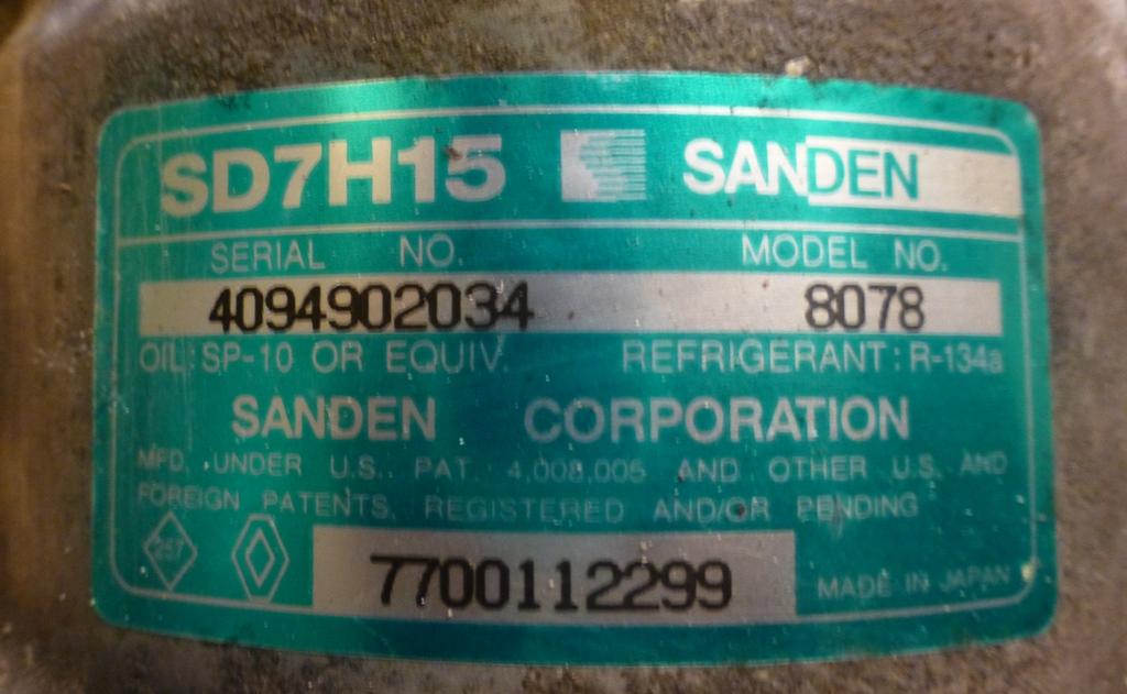 Quelle  maintenance peut-on apporter à un compresseur de clim démonté ? 126