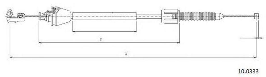 Changement d'un câble d'accélérateur Safrane 2.2dt 1_100310