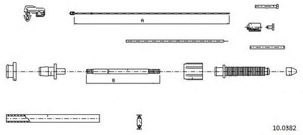 Changement d'un câble d'accélérateur Safrane 2.2dt 2_10_010