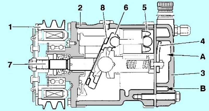 Quelle  maintenance peut-on apporter à un compresseur de clim démonté ? Compr010