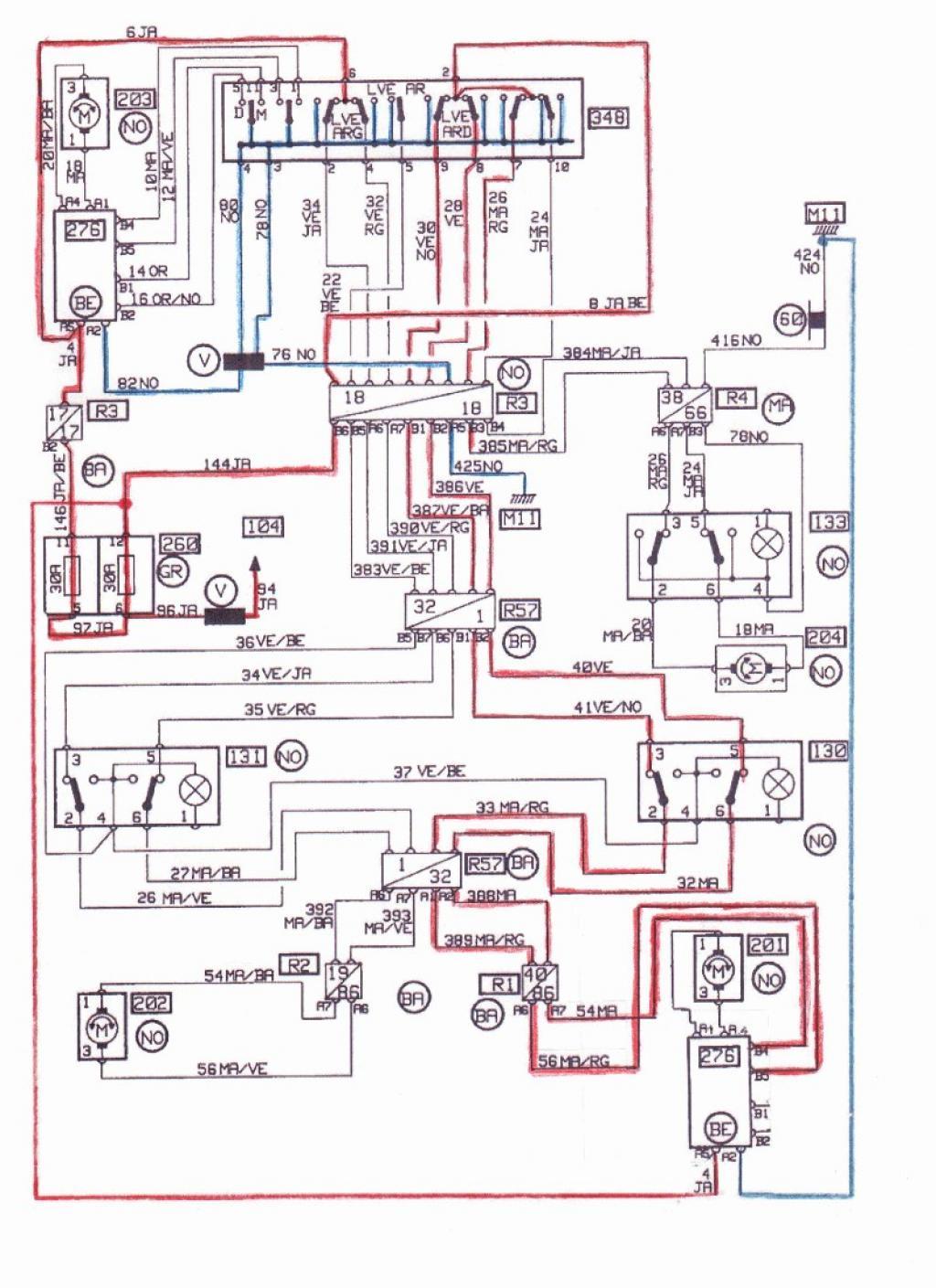 Vitres électriques arrière lentes (même bien graissées) Sch-ma11