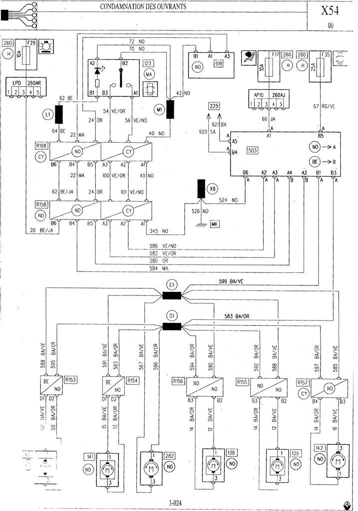 Fermeture coffre avec centralisation  Schzom10