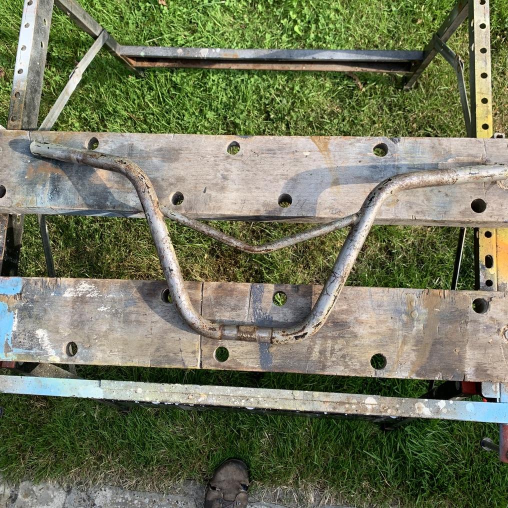 Identification d'un BMX et restoration. B0110