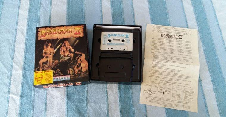 [VENDU] Barbarian I et II Amstrad cassette A92fb512