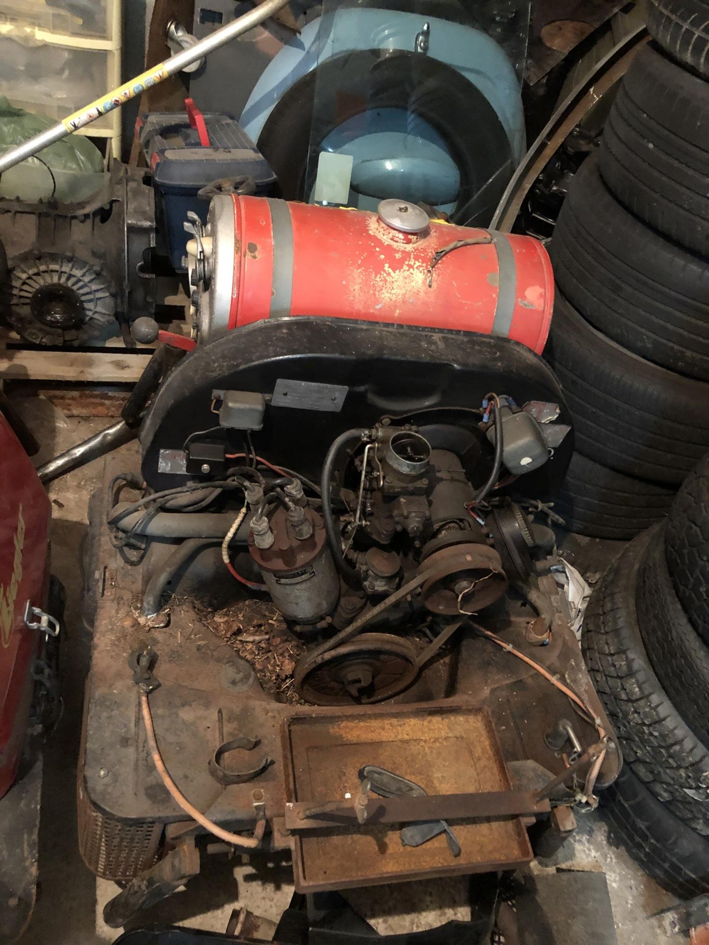 Moteur industriel VW 1600Sa 6916b910