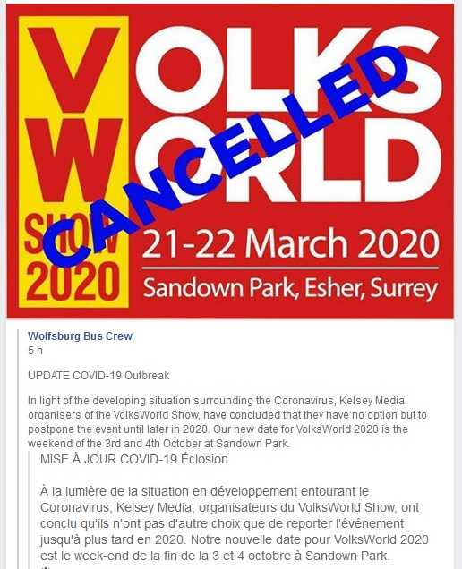 Volks World le 21 et 22 mars 2020 Volksw10