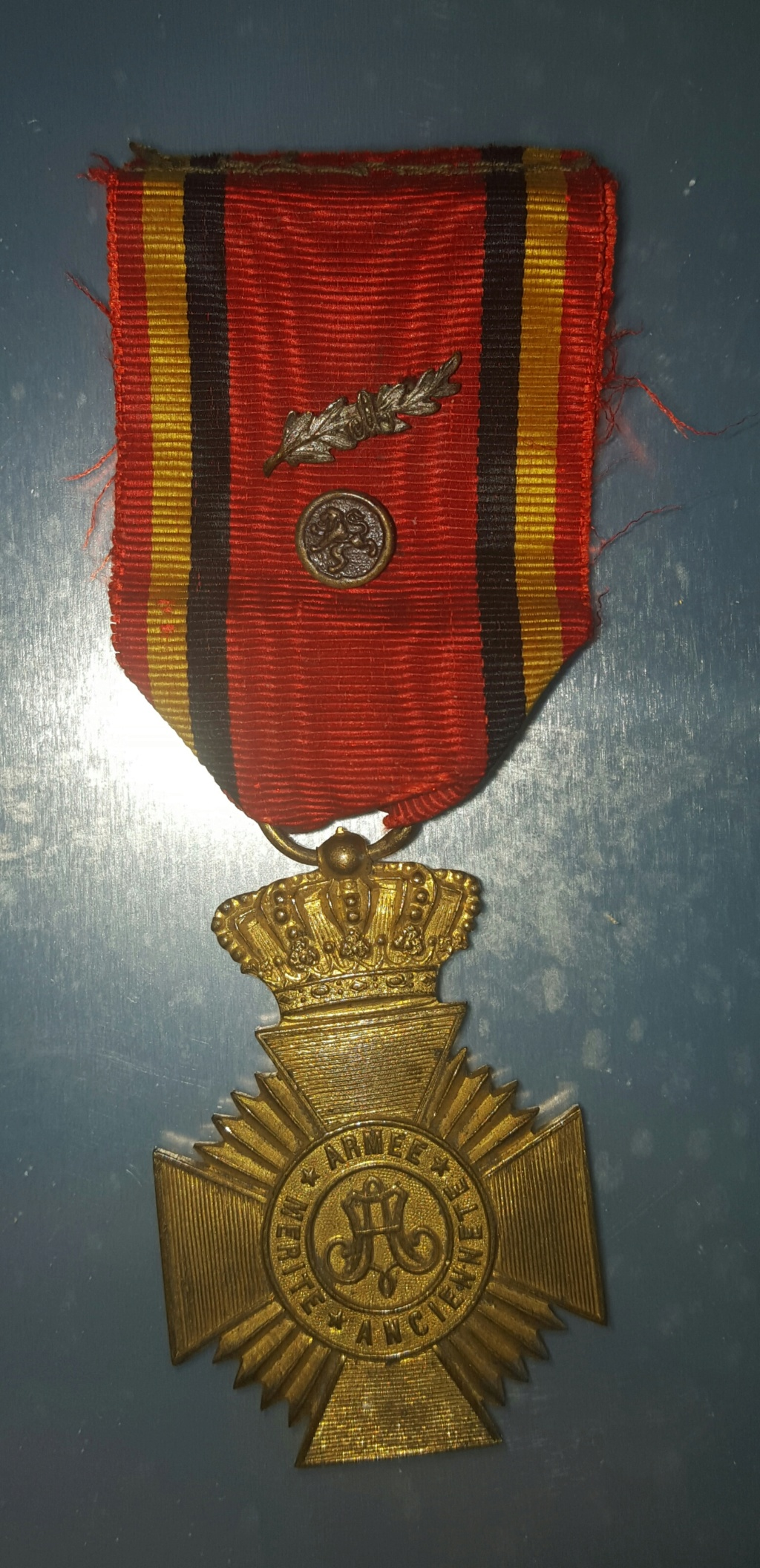 Médaille militaire belge , acte de bravoure ... 20180610