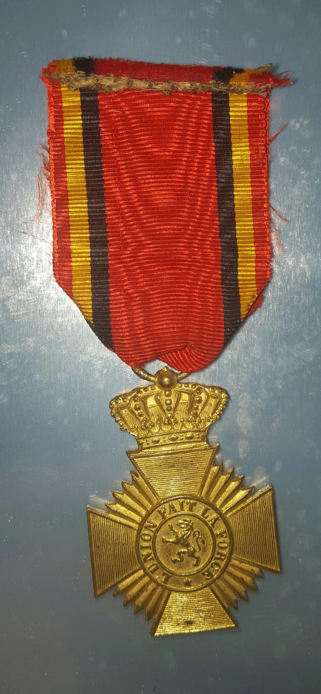 Médaille militaire belge , acte de bravoure ... 20180611