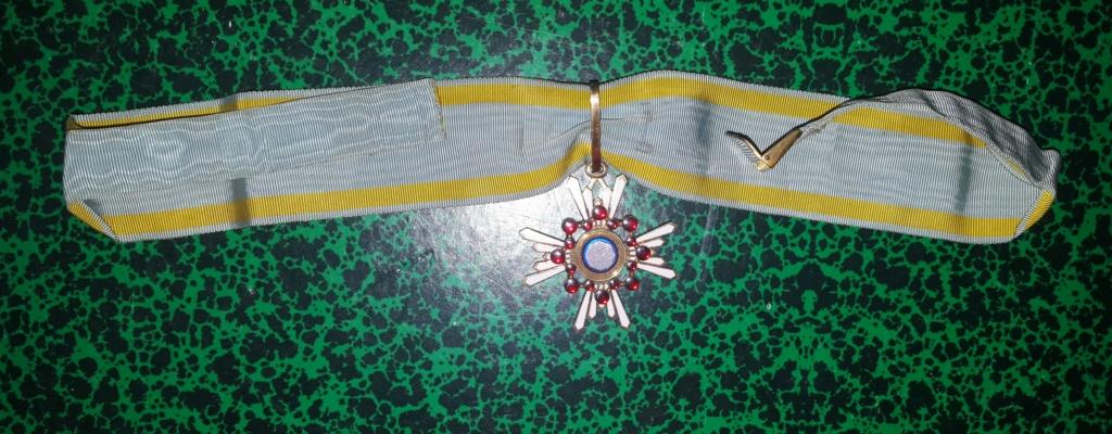Les poinçons sur les médailles et ordres japonais de Meiji à Showa : 20181015