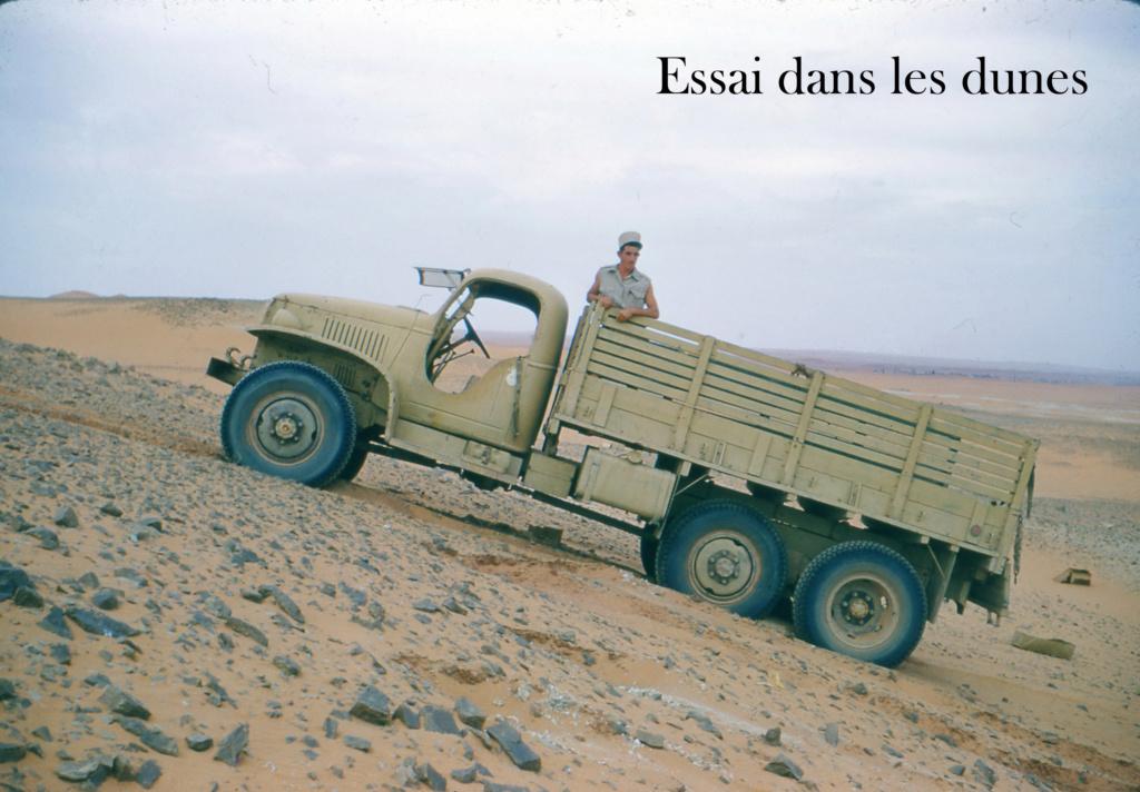 vehicule armee fransaise saharien periode 50/60 22t10