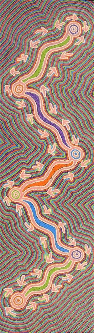 Le symbolisme dans l'art aborigène australien et son interprétation 1125_110