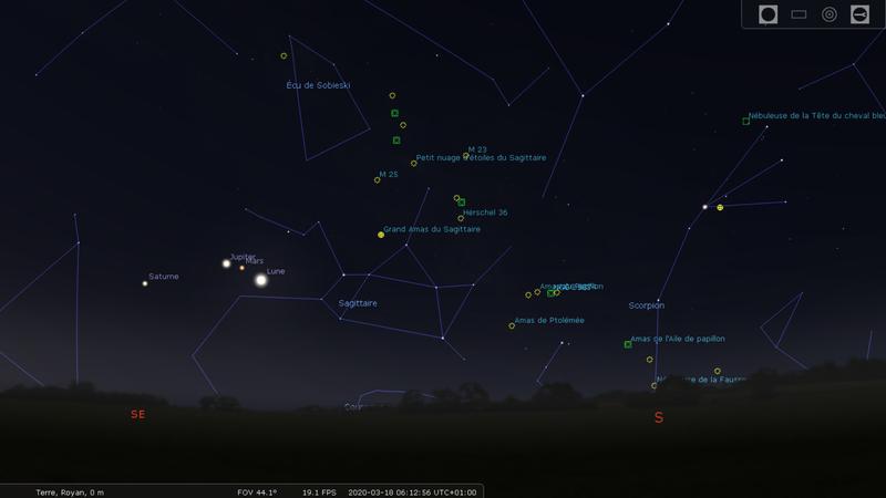 Alignement planétaire et solstice d'hiver 12624210