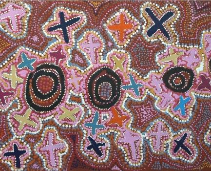 Le symbolisme dans l'art aborigène australien et son interprétation 2-kare10