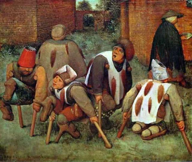 L'ergotisme, maladie du «feu sacré»  Pieter10