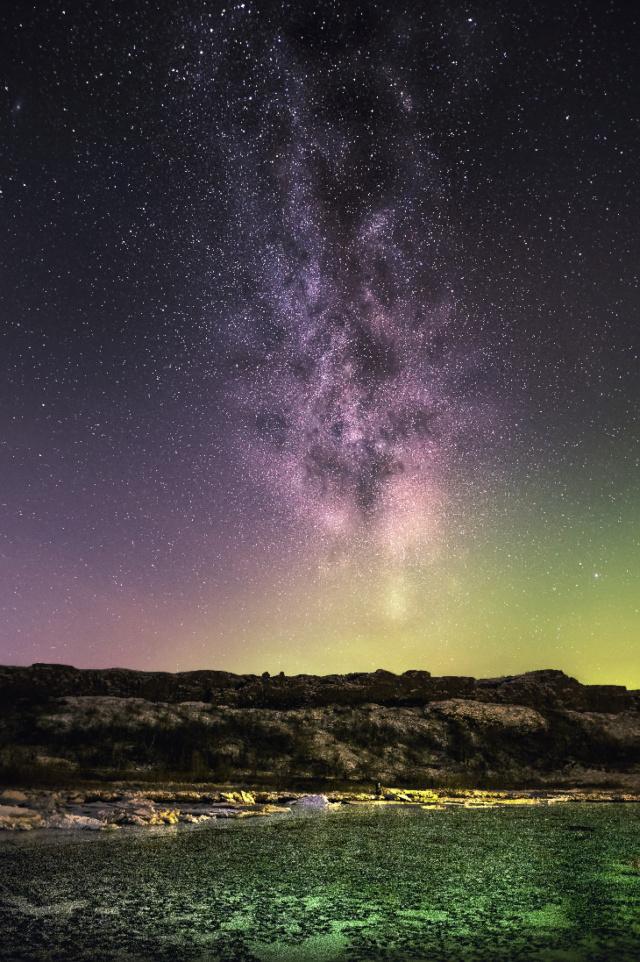 Beauté de la nature et de l'espace Wiolet10