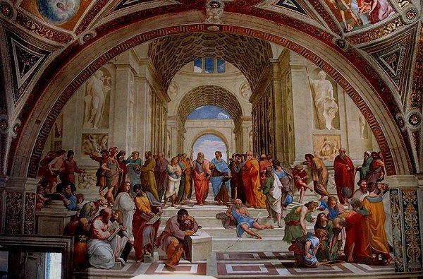 La  Escuela de Atenas-Rafael Escuel10