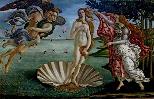 El Nacimiento de Venus-Botticelli G1bott10