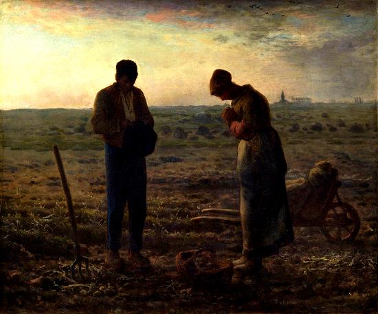 El Ángelus(Oración) --Millet Image10
