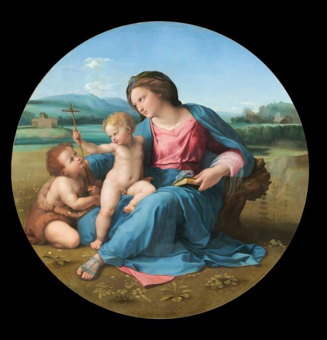 Virgen de la Casa de Alba-Rafael Raphae10