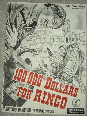 100.000 dollars pour Ringo - Centomila dollari per Ringo - 1965 - Alberto de Martino - Page 2 10000d11