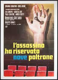 L'Assassin a réservé 9 fauteuils - L'assassino ha riservato nove poltrone - Giuseppe Benatti - 1974 Tzolzo22