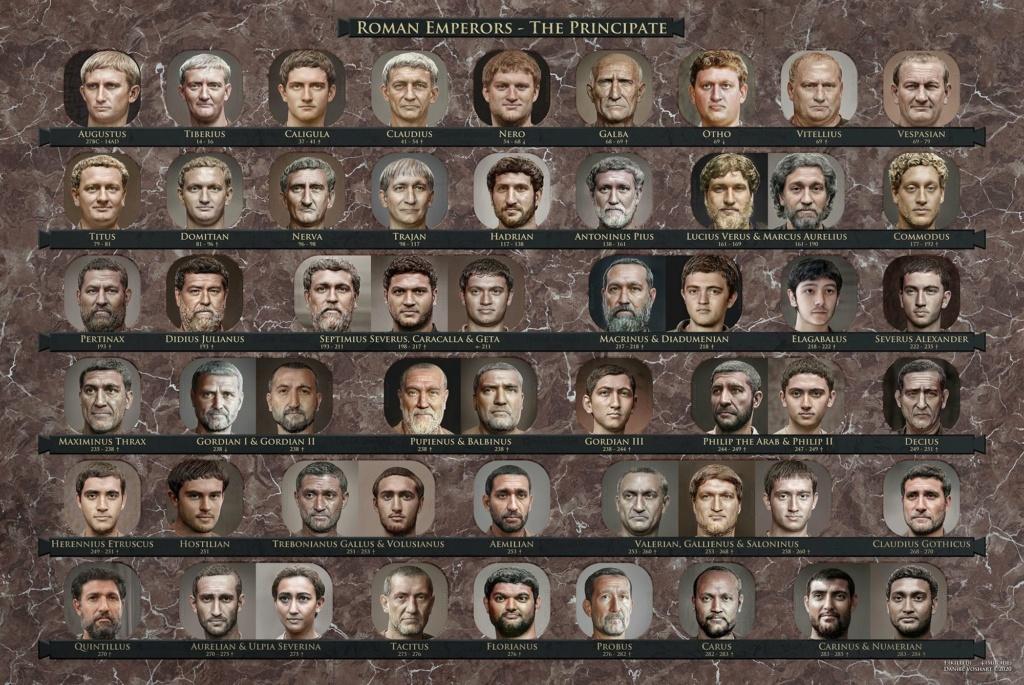 Les empereurs romains 12452310