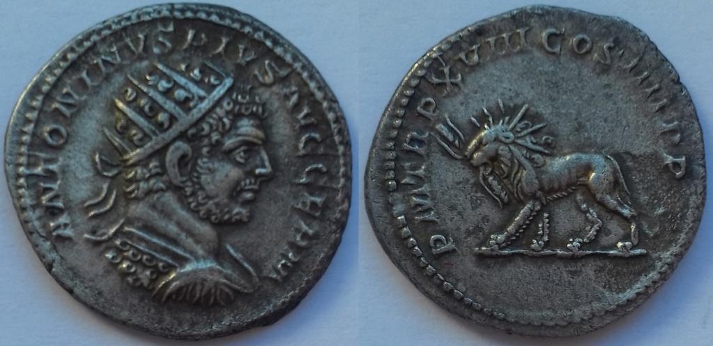 Antoninien de Caracalla PM TRP XVIII COS IIII PP 20181217