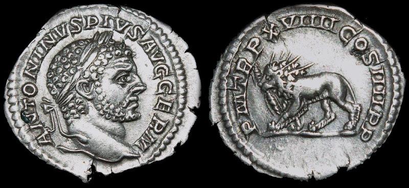 Antoninien de Caracalla C10211