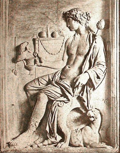 Tétradrachme THASOS ÎLES DE THRACE Dionys12