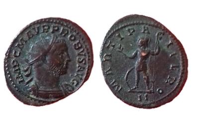 Antoninien de Probus MARTI PACIFERO Probus10