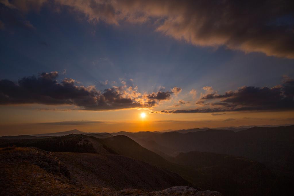 Coucher de soleil sur Lure  4m6a6610