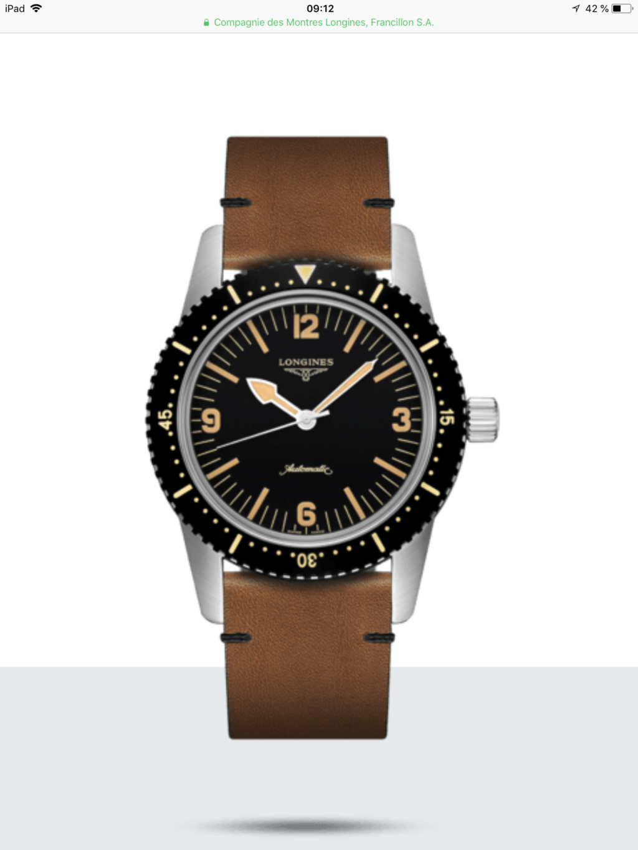 Longines - Longines skin Diver A3ada110